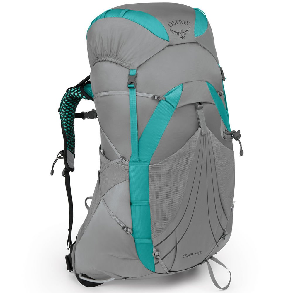 Osprey Packs Eja 48 Women's Backpacking Pack, Moonglade Grey, X-Small