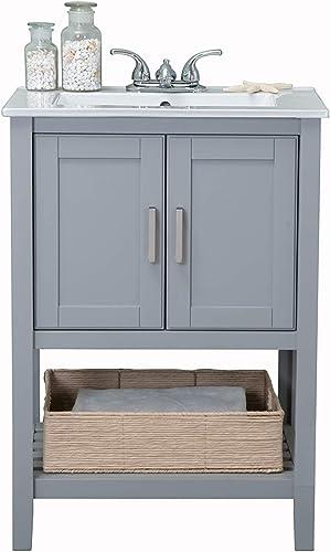 Legion Furniture WLF6020-G-BS Bathroom Vanity