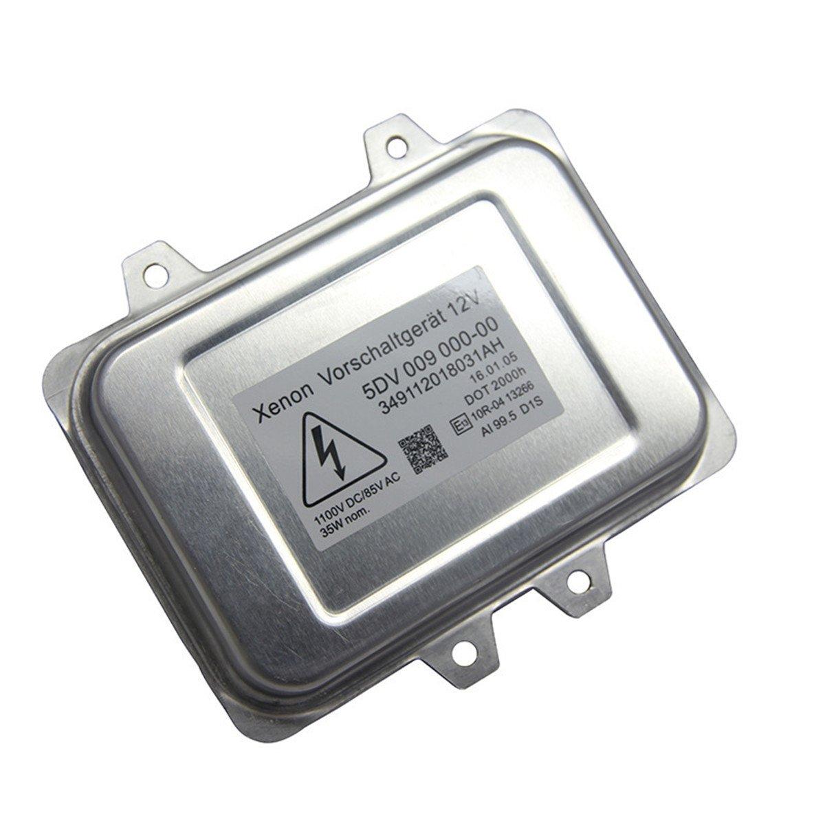 FEZZ Car D1S D1R Xenon HID Headlight Ballast Control Module OEM 5DV 009 000-00 12V 35W