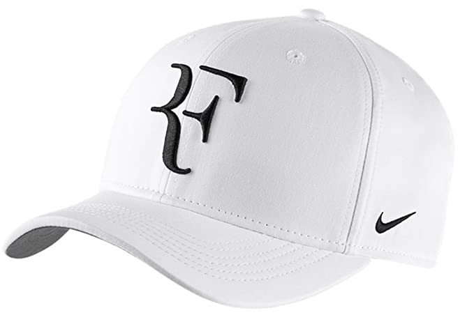 26bd4f15802 Image Unavailable. Image not available for. Colour  Nike Mens Roger Federer  RF Classic 99 Aerobill Tennis Hat ...