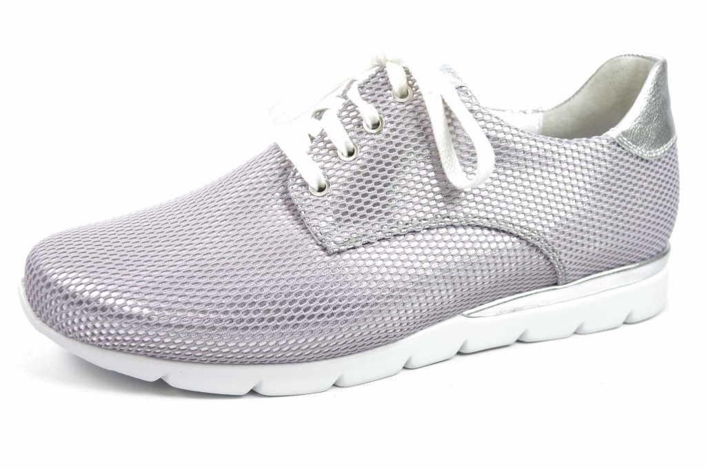 Semler Nelly, Zapatos de Cordones Brogue para Mujer 35.5 EU|gris