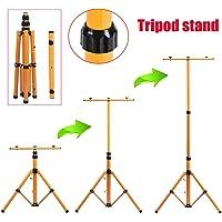 Trípode ajustable telescópico para iluminación de sitio