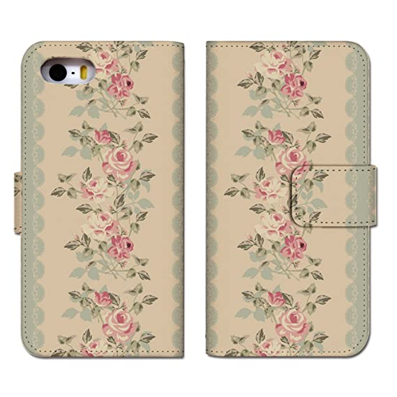 IPhone 6 6S Case Flip Protective Cover Country Wallpaper Brown