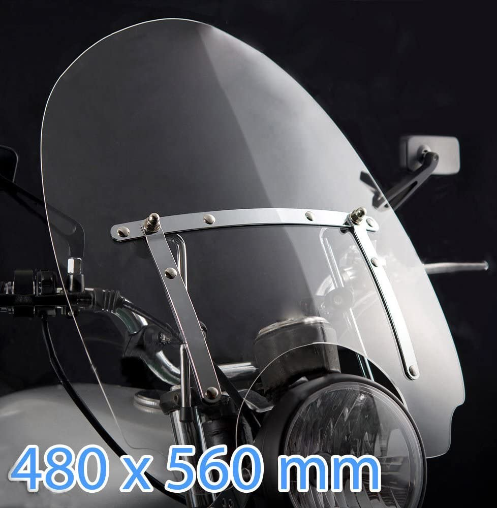 Pare Brise Moto XVS650// Classic Dragstar 97-03
