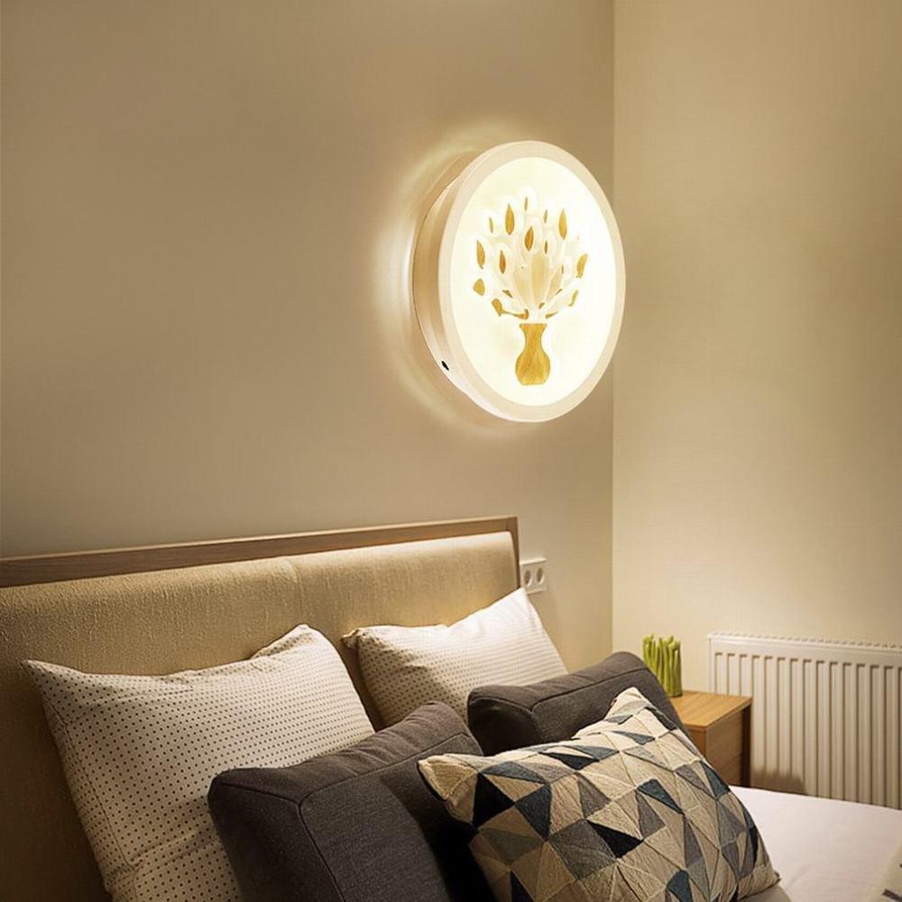 fabbrica diretta SUO LED personalità creativa soggiorno corridoio scala lampada da parete parete parete del corridoio,A - tre tempera,Circa 22 cm di DEN  alta qualità