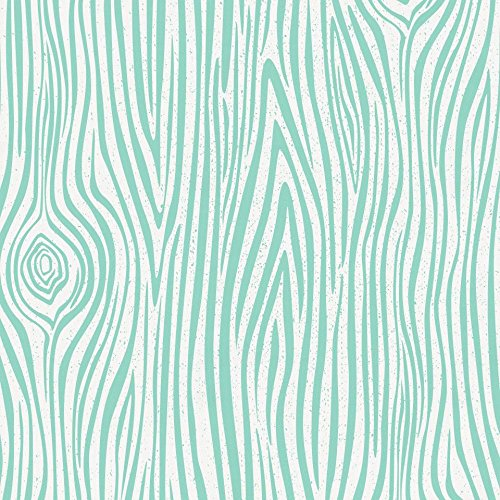 Carousel Designs Mint Woodgrain Toddler Bed Sheet Fitted by Carousel Designs (Image #3)