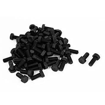 uxcell M2x7mm Thread Button Head Hex Socket Cap Screw Bolt 100pcs a15120300ux0272