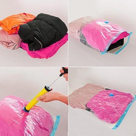 13pcs gran ahorro de espacio vacío bolsas de almacenamiento, 6 tipo de tamaño para elegir