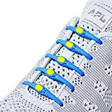 HICKIES 1.0 No-Tie Elastic Shoelaces - Blue