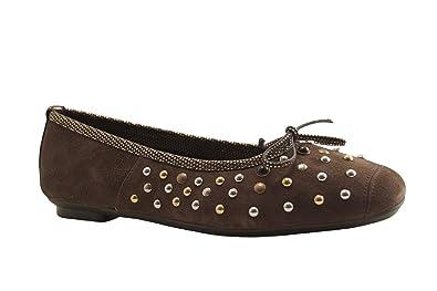 Et Reqins Hermione Sacs Ballerine Peau Kaki Chaussures 88Fnq01H