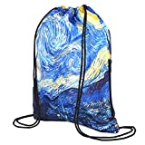 Zoresyn Drawstring Bag Outdoor Exercise Backpack Travell Sackpack Water Resistent Swimming Knapsack