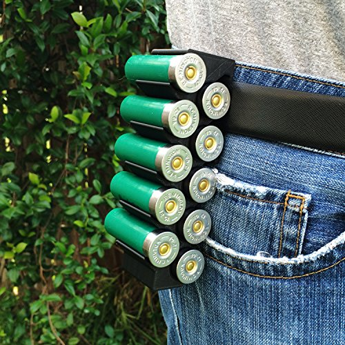 Black MAKERSHOT 12 Gauge Shotgun Shell Holder