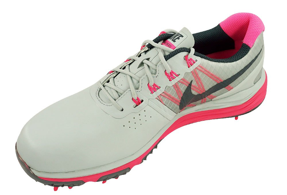 Nike Women's Lunar Control Golf Shoes (7, Pure Platinum/Pink Pow/Charcoal) by NIKE (Image #2)