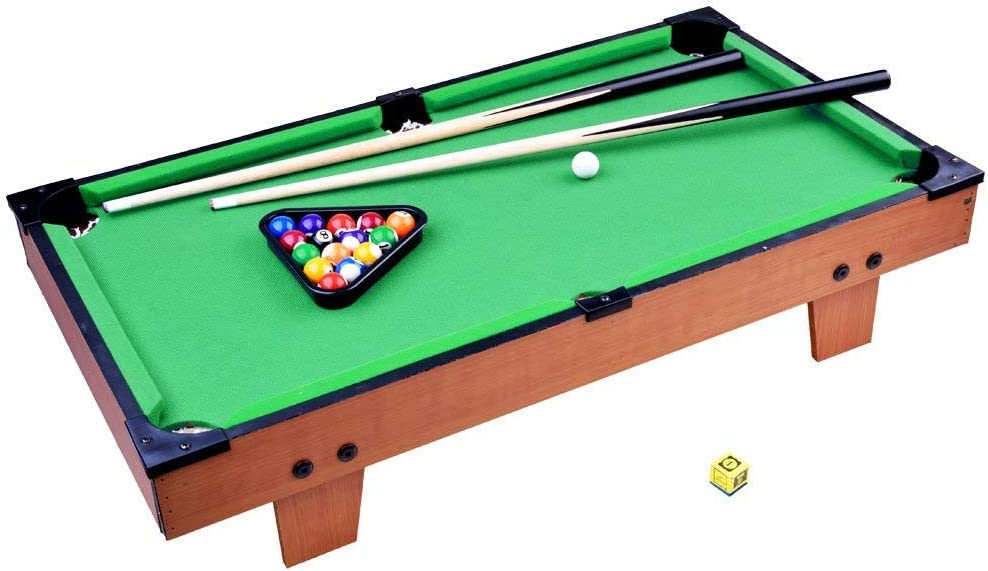Mini Pool Table - Mesa de Billar con Bolas y Accesorios para Niños ...