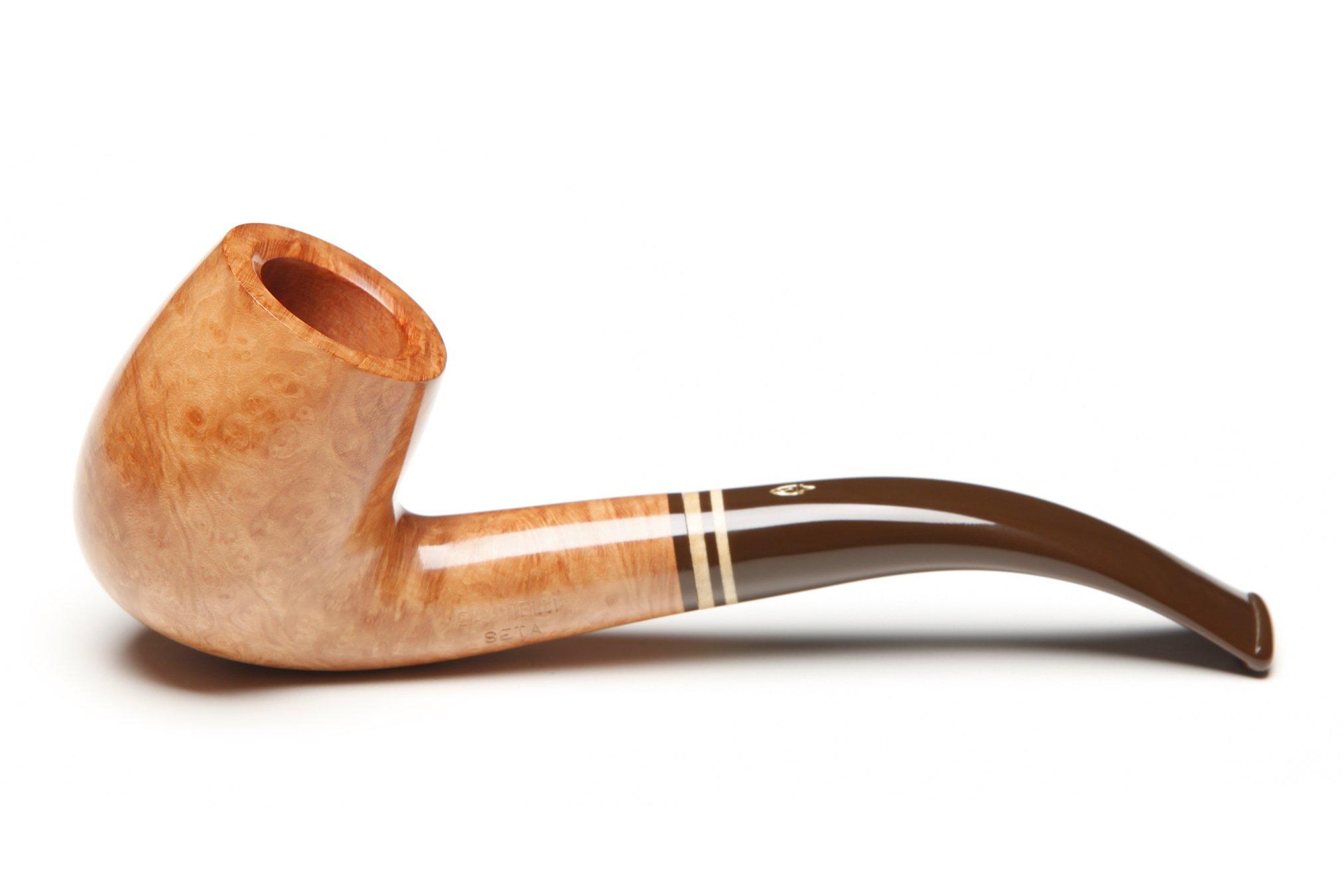 Savinelli Seta Smooth 606 KS Natural Tobacco Pipe by Savinelli (Image #1)