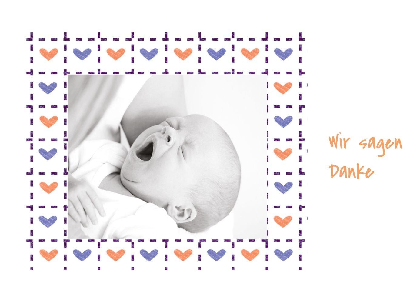 Kartenparadies Danksagung Danksagung Danksagung für Geburt Baby Dankeskarte Herzrahmen, hochwertige Danksagungskarte Baby inklusive Umschläge   100 Karten - (Format  148x105 mm) Farbe  Lila B01MZFQ9W5 | Kaufen  | Deutschland Store  | Sale Online  6d131d