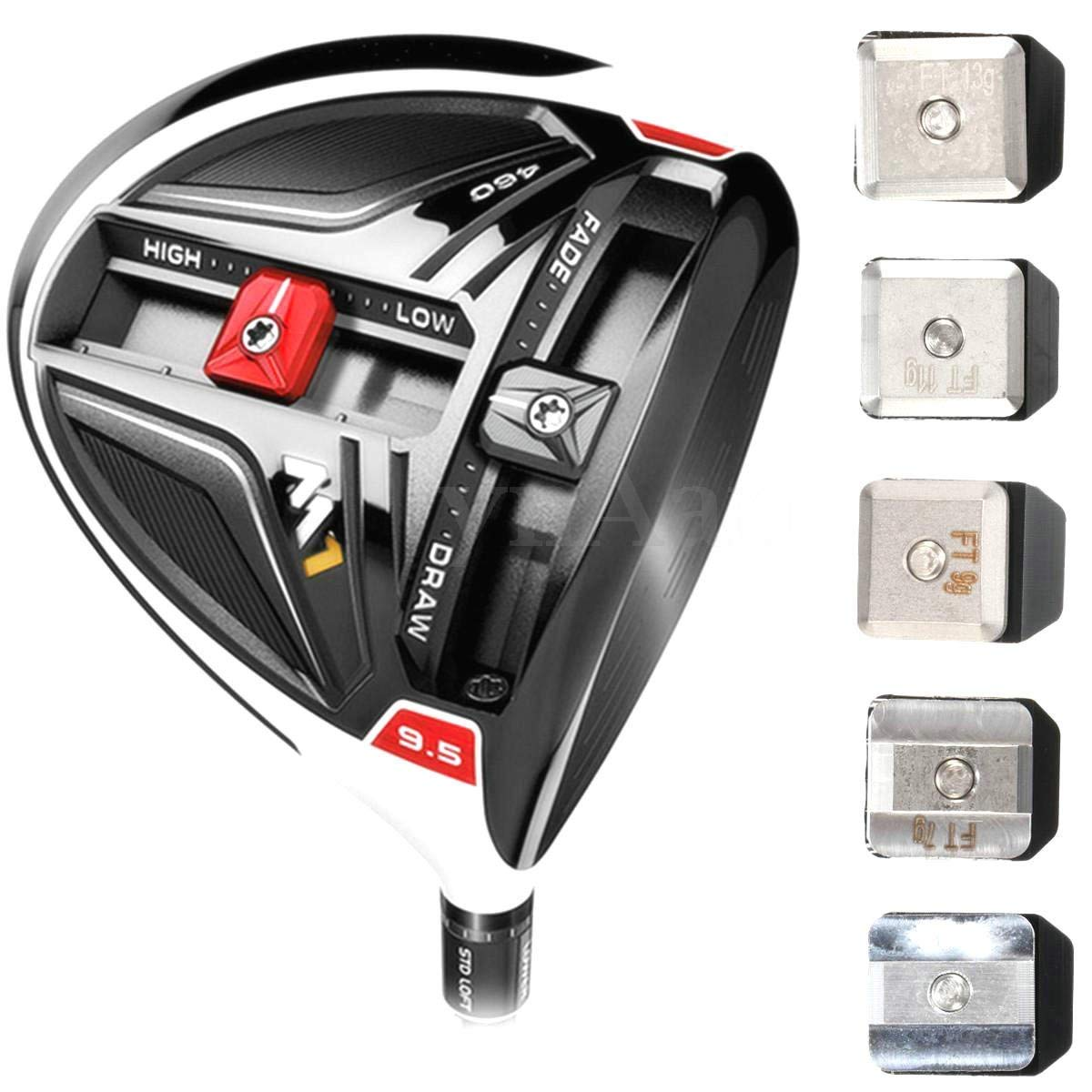 New Performance Golf Slide Movable Weight Taylor Made M1 Driver M1 Tour Issu 460CC(9g) by XIAMI (Image #4)