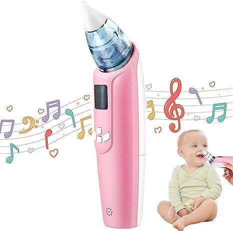 Bebé Aspirador Nasal, Limpiador de nariz de bebé aspirador nasal ...