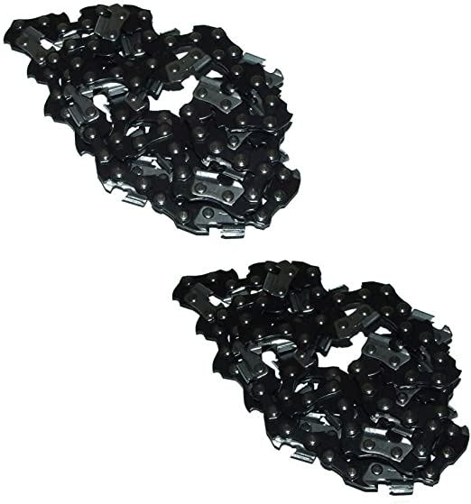 2 Pack replacement for Worx WG309 Electric Pole Saw 10-inch  Chainsaw Chain