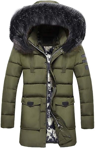 Parka doudoune, veste hiver homme coton