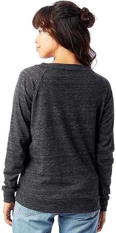 Donna Eco Alternativa Abbigliamento da Donna Eco-Jersey Slouchy Pullover AT004