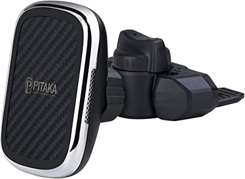 Pitaka Magnetic Wireless Car Phone Holder Aramid Fiber Elektronik