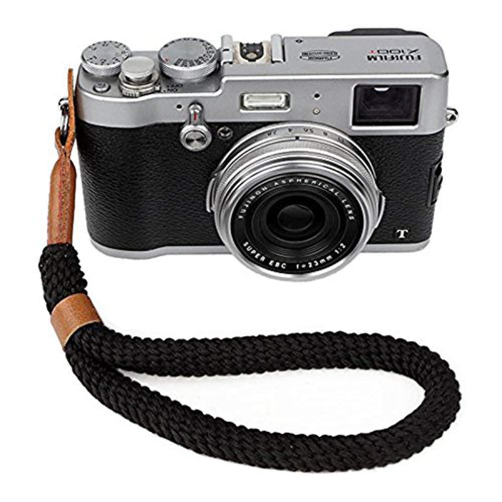Nikon Fuji C/ámara Dgital Correa para la Mu/ñeca Brazalete Hecho a Mano Algod/ón Suave C/ámara Correa para Leica Olympus Lumix Sony. Canon