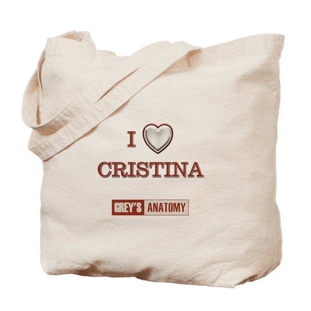 d58fae2555b555 Amazon.com: CafePress - I LOVE CRISTINA - Natural Canvas Tote Bag, Cloth Shopping  Bag: Kitchen & Dining
