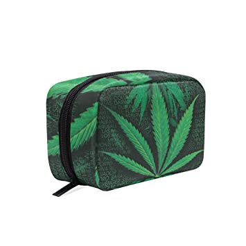 Zipper Top Bag With Odor Proof Marijuana Storage Inside.Free Shipping Marijuana Toke Bag