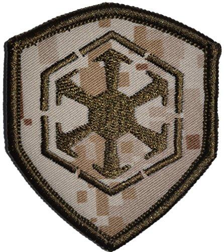 Sith Empire - Shield Style Patch 2.5x3 (Desert Digital Marpat) ()