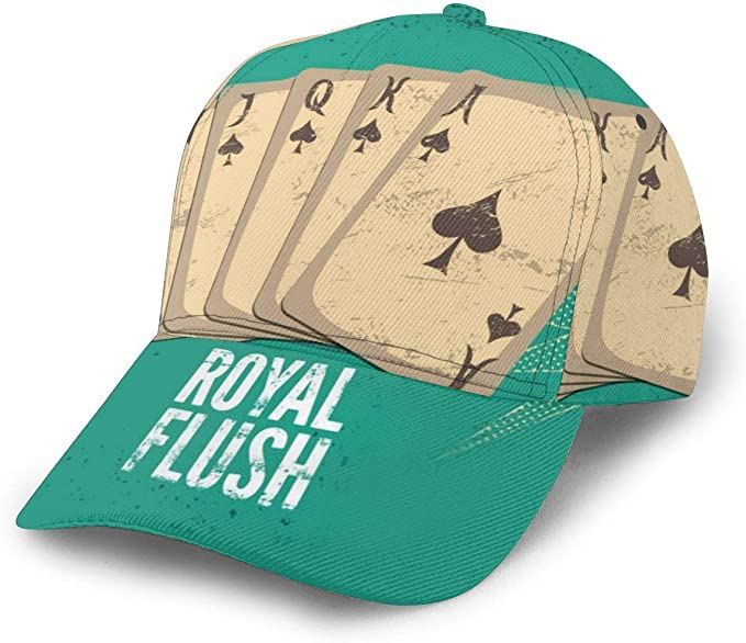 Inaayayi Gorra de béisbol Vintage Retro Casino Cartel Juego ...
