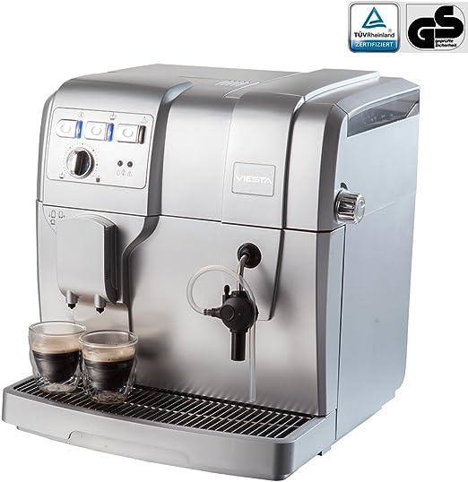 Viesta Eco100 - Cafetera automática, 1500 W, color plateado ...
