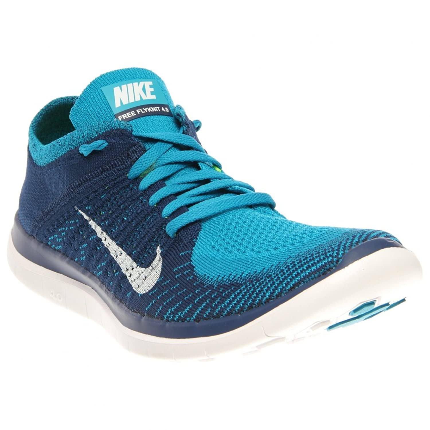 nike free flyknit 4.0 mens running trainers 631053 401 sneakers shoes (uk 8  us 9 eu 42.5): Amazon.co.uk: Shoes & Bags