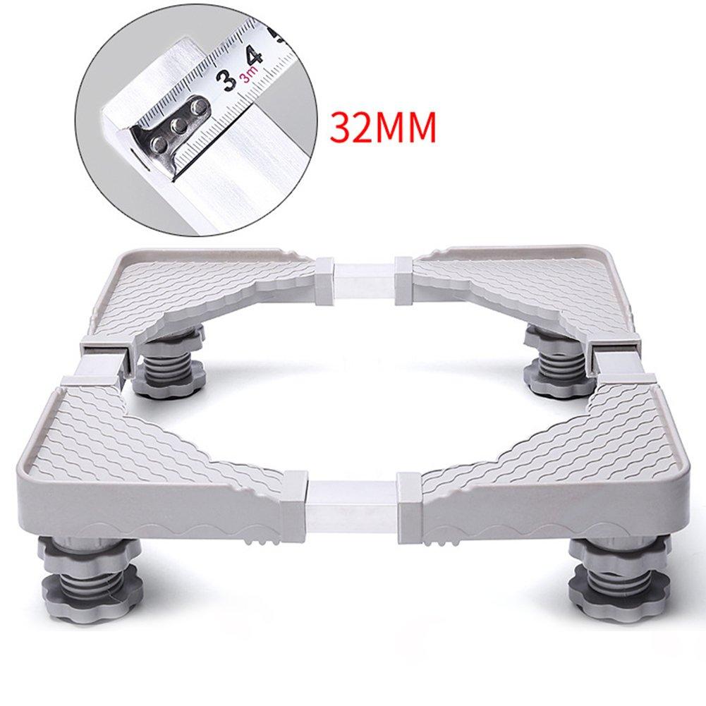 ETbotu Universal Adjustable Stainless Steel Base Bracket for Refrigerator Washing Machine Accessories