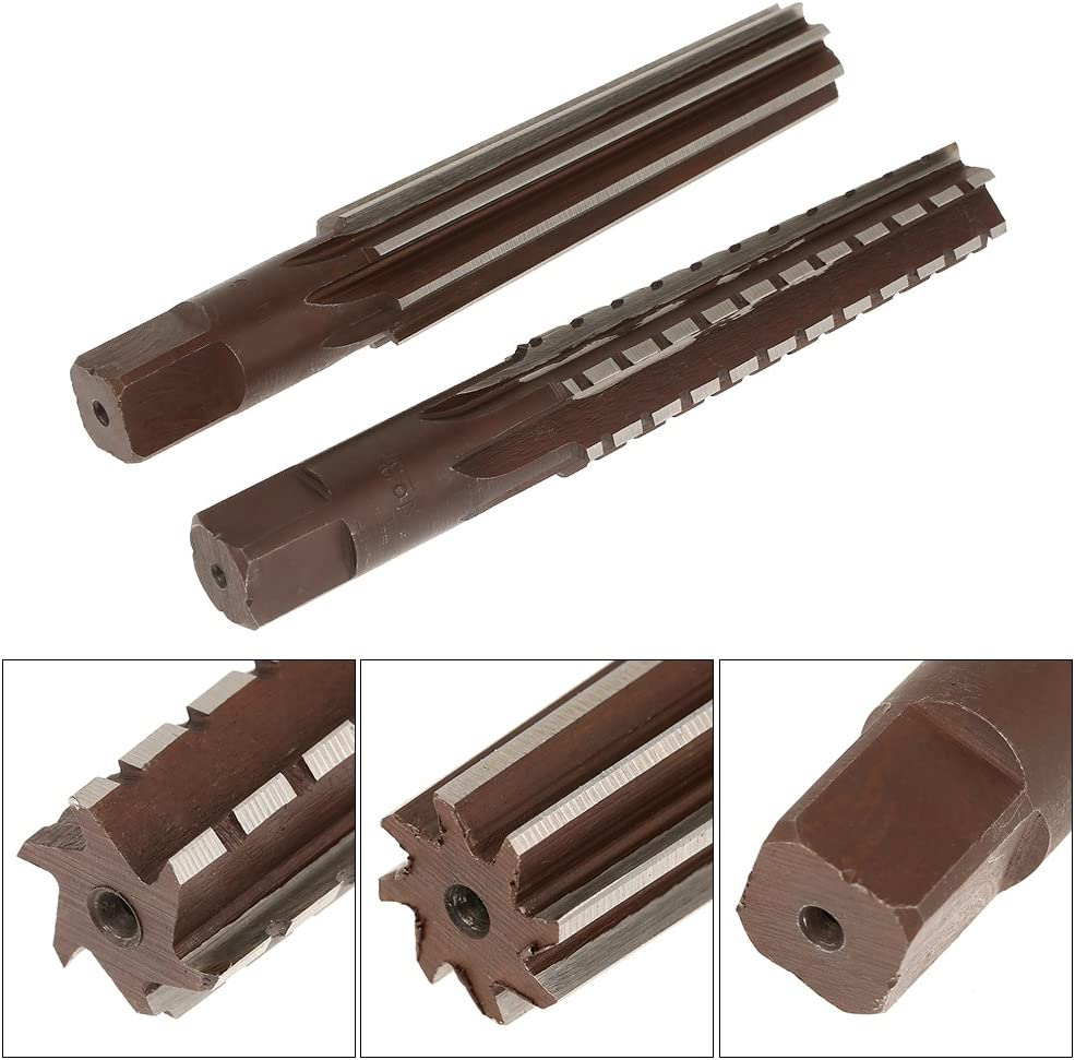 High Speed Steel 148 x 16 x 20mm KXA MT3 Taper Straight Shank Finishing Reamer