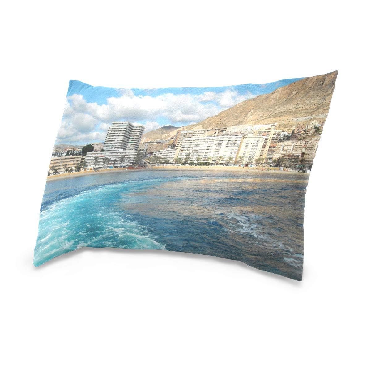 Gxdchfj Aguadulce Almeria Fashion Throw Almohada Cover with ...