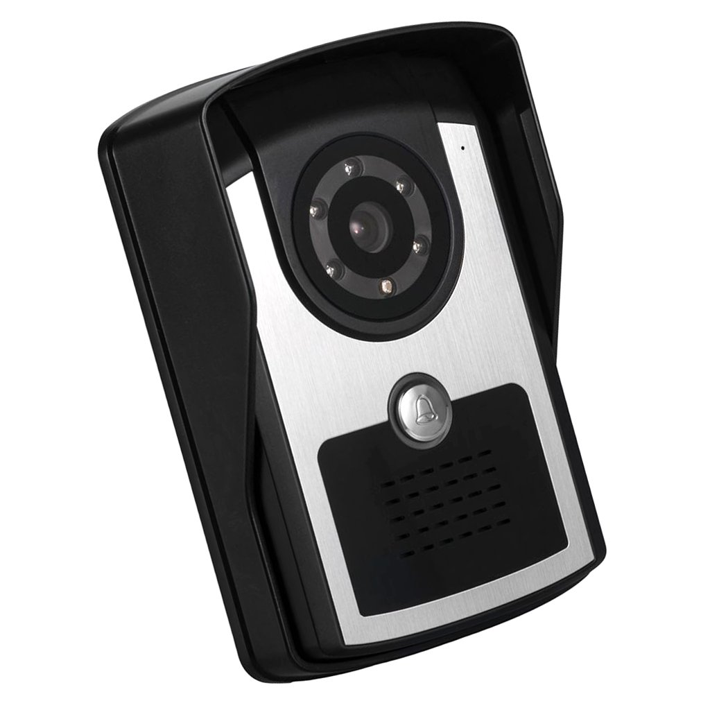 Homyl Video Türklingel Wi-Fi drahtlose Video Türsprechanlage Bewegungssensor, Nachtsicht - Schwarz
