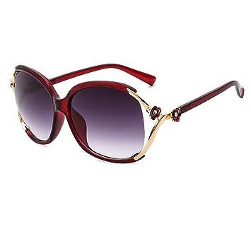 HALORI Gafas de Sol polarizadas para Mujer - Marco de Gafas Grandes, Gafas de diseño
