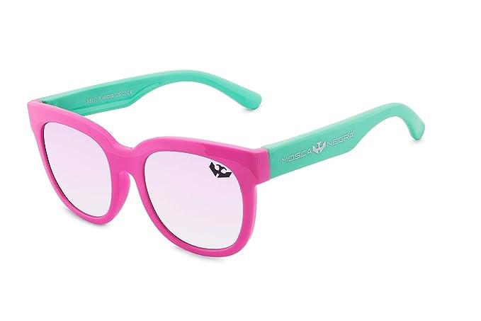 Gafas de sol para niño niña MOSCA NEGRA modelo NEW YORK Pink ...