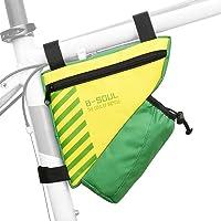 Bike Pannier, Andoer Bolsa Triângulo para Bicicleta com Bolso para Garrafa de Água Estrutura para Ciclismo Bolsa Tubo…