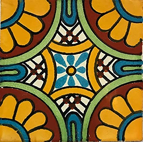 Amazon.com: Auténtica pintura a mano mexicana Talavera ...