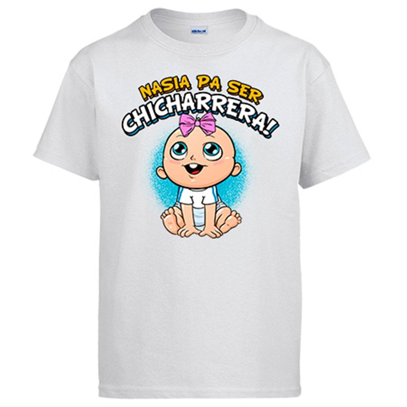 Camiseta nacida para ser Chicharrera Tenerife fútbol - Blanco, S: Amazon.es: Ropa y accesorios