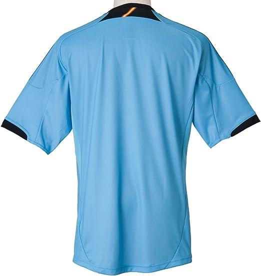 Adidas FEF A JSY Camiseta de Futbol Azul para Hombre Espana ...