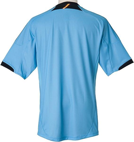 Adidas FEF A JSY Camiseta de Futbol Azul para Hombre Espana: Amazon.es: Deportes y aire libre