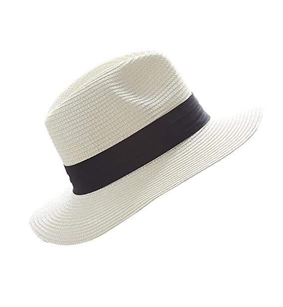 1fbe2e8d811 Image Unavailable. Image not available for. Color  Women Man Floppy Sun  Beach Straw Hats Wide Brim Packable Holiday Summer Cap