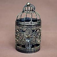 Emorias 1 Pcs Candelabro Hueco Vintage Farol Decorativos