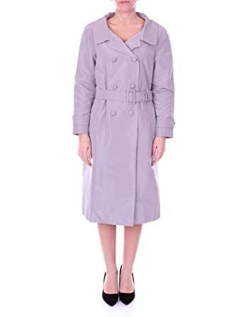 Prada Femme 29P106S171B03GREY Gris Coton Trench Coat  Amazon.fr ... aad4dbe7f72