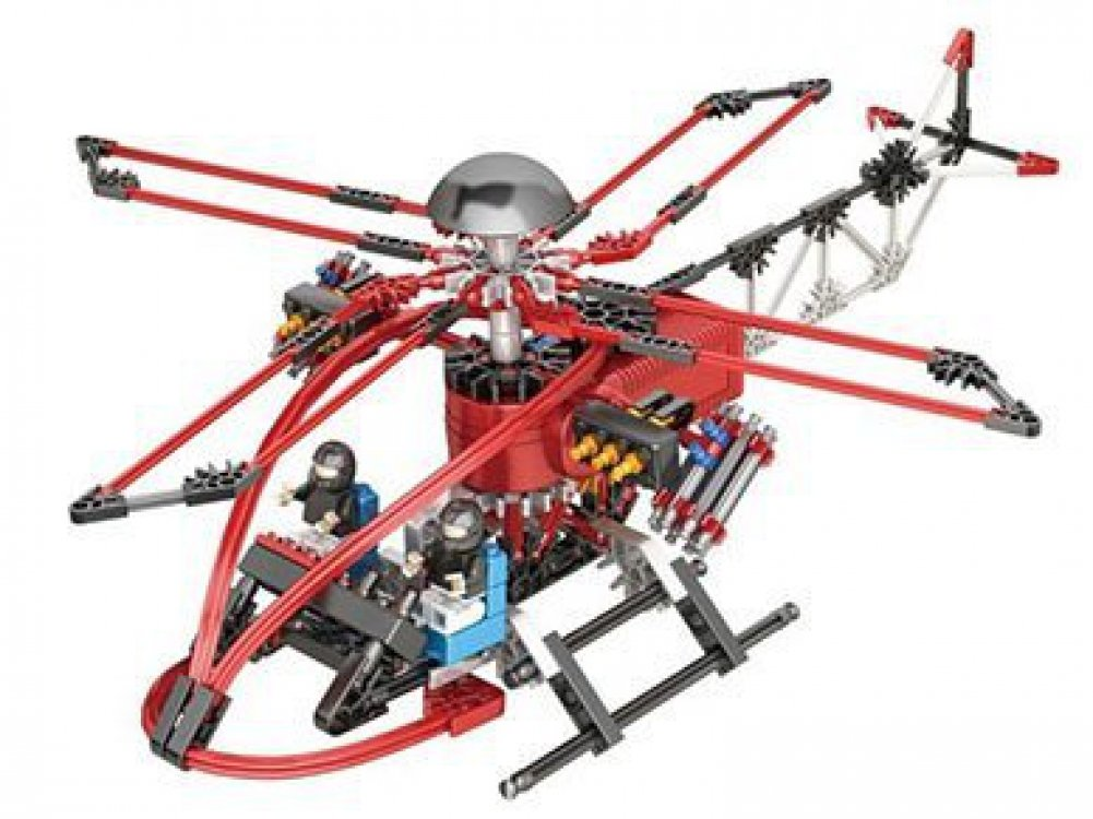 6012 INOVATIVE GAMES LOZ Motor Building Block Helicopter Special Task Force 205pcs