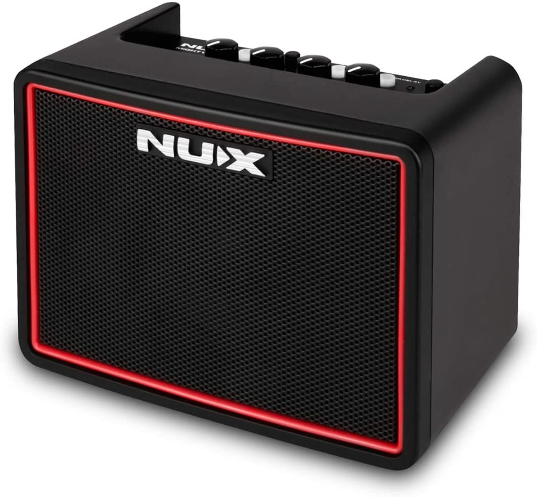 Amazon.com: NUX Mighty Lite BT Mini Portable Modeling Guitar Amplifier with  Bluetooth (Black/Red): Musical Instruments