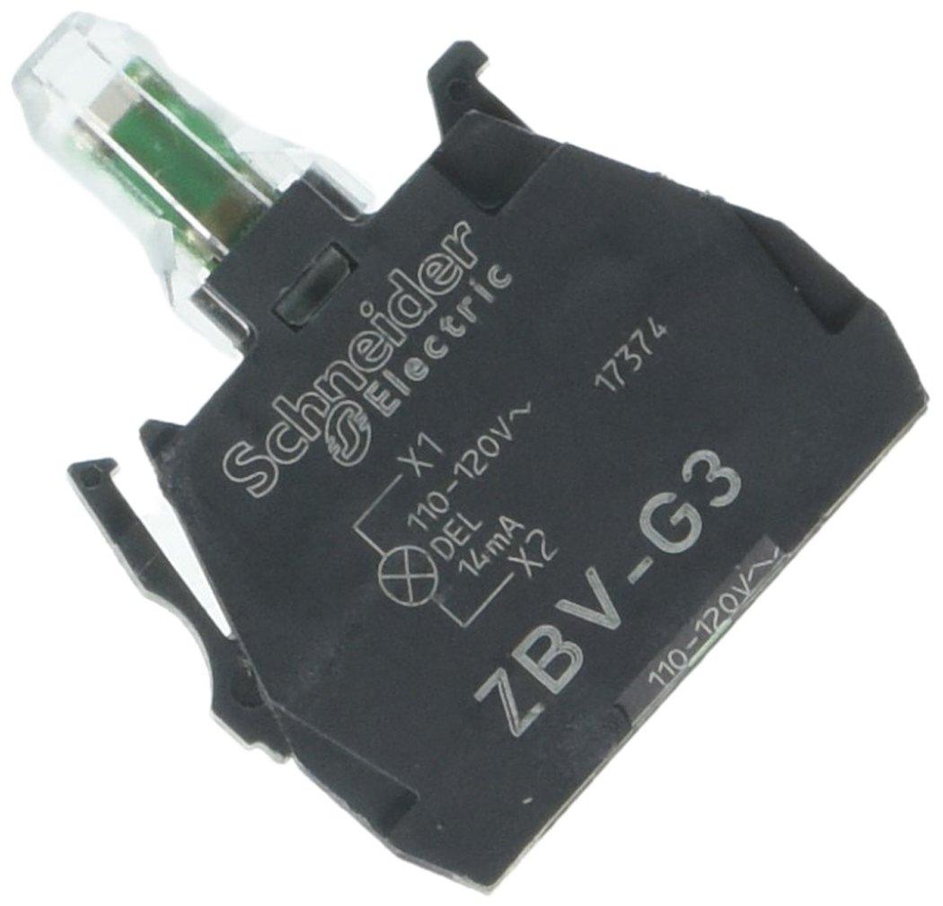 SCHNEIDER ELECTRIC ZBVG3 Push Button Light Module 22Mm 110-120-Vac X B4